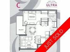 Whalley Apartment for sale: Ultra 1 bedroom 611 sq.ft. (Listed 2017-09-11)